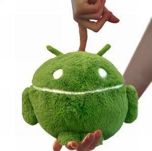 Android Plüsch Mini