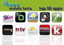 Mobile Facts 2011: Die beliebtesten Apps in Deutschland