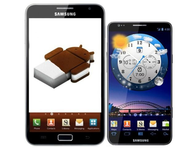 Samsung Galaxy Note, Samsung Galaxy S3
