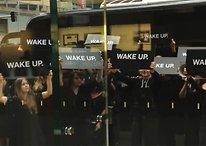 """Hinter der Aktion """"Wake Up"""" steckt nicht Samsung, sondern..."""