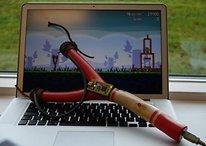 El tirachinas artesanal para fans verdaderos de Angry Birds