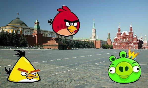 Angry Birds en el mundo