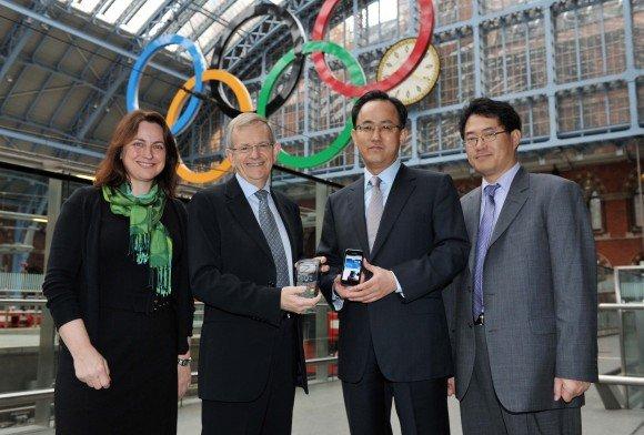 Samsung VISA NFC Londres 2012