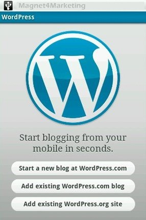 blog apps Wordpress
