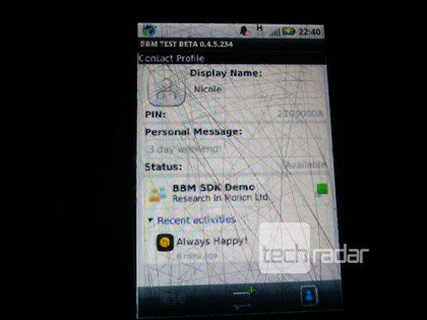 blackberry messenger android 2