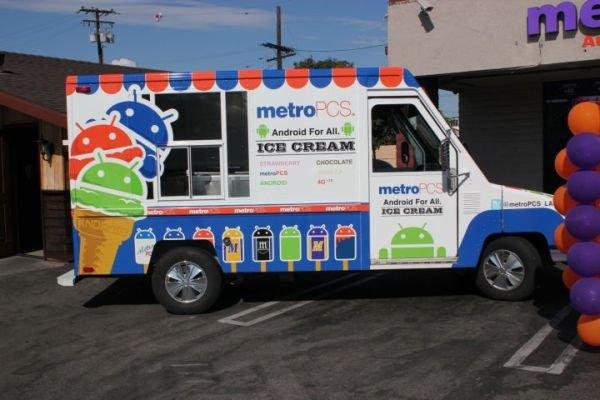 Publicidad Ice Cream Sandwich