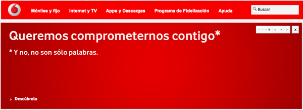 compromiso vodafone