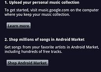 Versión beta de Google Music Store
