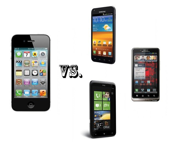 iphone contra smartphones