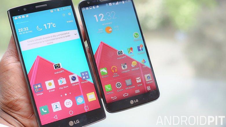 lgg2 lgg2 pantalla sol