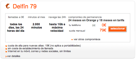 PRECIO HTC BEATS ORANGE