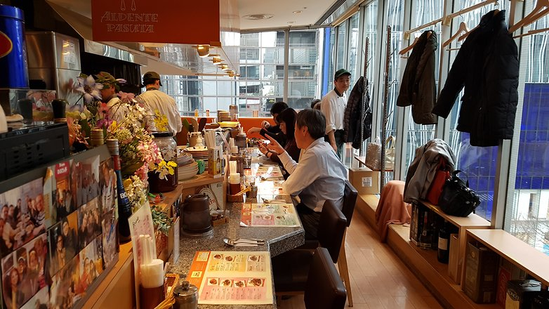 tokyo sony building restaurant