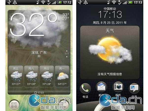 First look HTC Sense 3.5 User Interface