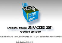 Samsung Mobile Unpacked Event Announced For CTIA 2011