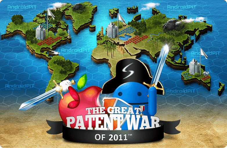 The Great Patent War of 2011 Inforgraphic