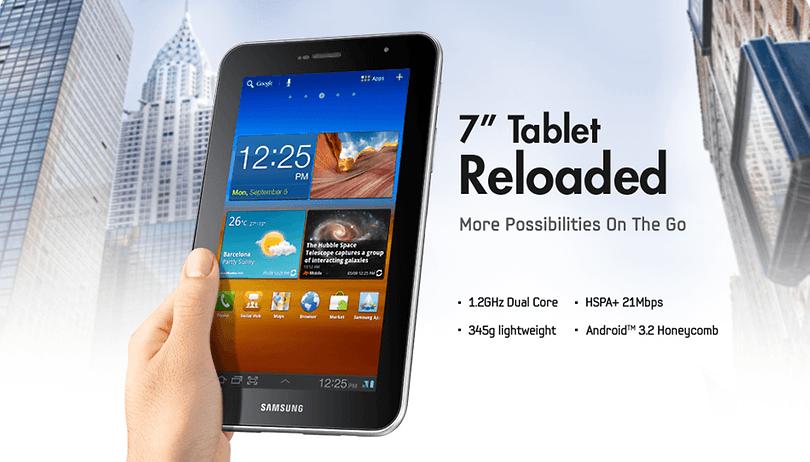 "Samsung Announces New 7"" Galaxy Tab 7.0 Plus"