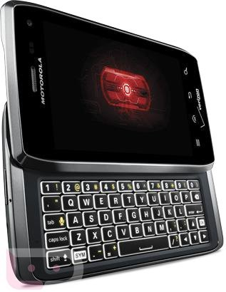 Droid 4, Motorola RAZR with QWERTY keyboard