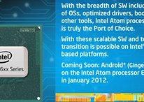 [Video] Intel Atom Processor Will Snack on Gingerbread in 2012