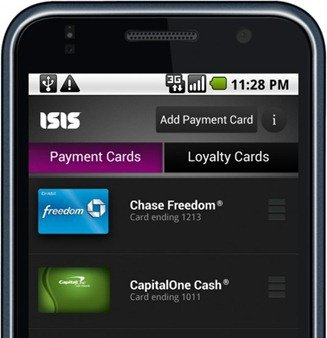 Isis mobile wallet