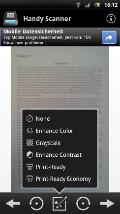 Scanner App Android Sample