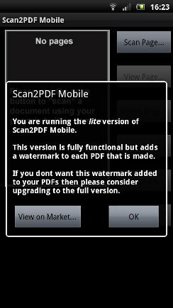 Document Scanner Sample